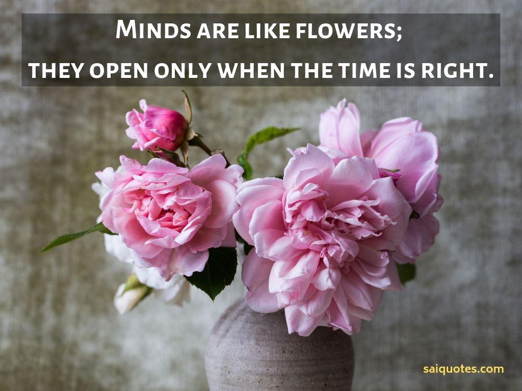 sai quotes flower quotes