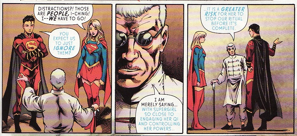 Supergirl Comic Box Commentary: Review: Supergirl #14