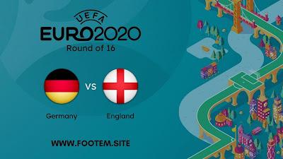 Germany vs England EURO - Round of 16