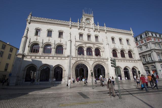 Stazione Rossio-Lisbona