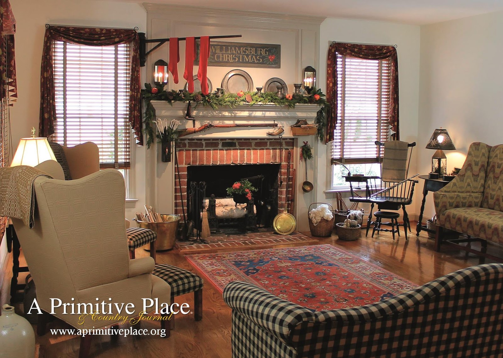 A primitive place country journal magazine for Home decor places