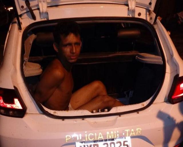Quarto fugitivo de presídio no interior do Acre é encontrado escondido na casa da mãe