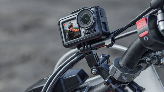 Stabilitas DJI Osmo Action Camera menggunakan RockSteady