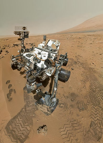 รถโรเวอร์ Curiosityของ NASA (Credit: NASA/JPL-Caltech/Malin Space Science Systems)