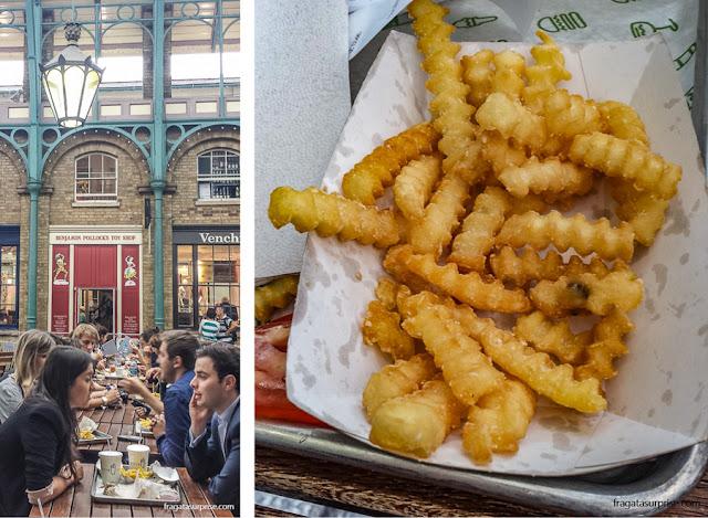 Hamburgueria Shake Shack, Covent Garden, Londres