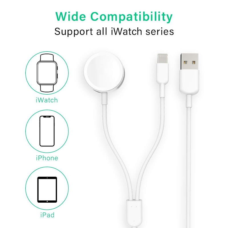 60% off  Apple Watch Charger White