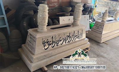 Kijing Mataram Tumpuk Marmer | Makam Marmer Model Mataram