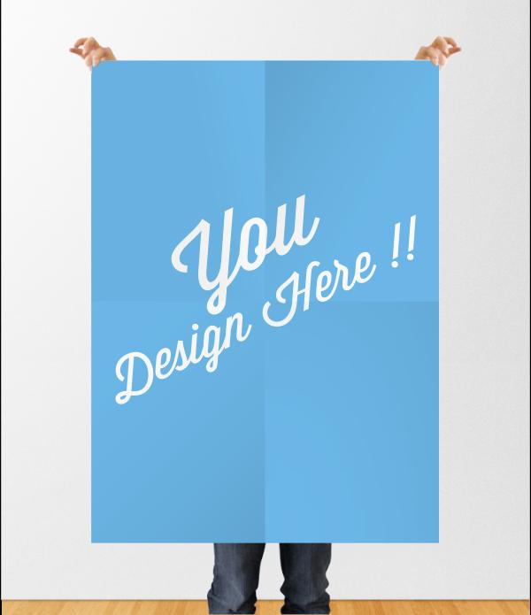Poster Mockup File CDR 4