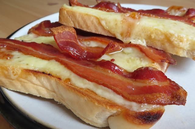 Bacon & Cheese On Toast