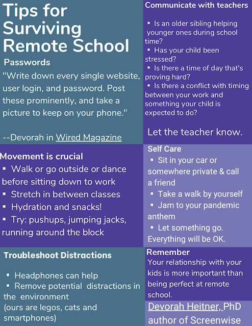 Tips for Surviving Remote School by Devorah Heitner