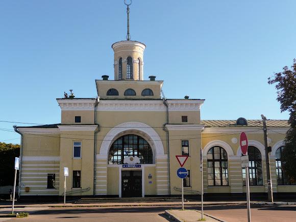 Бердичев. Железнодорожный вокзал и автостанция