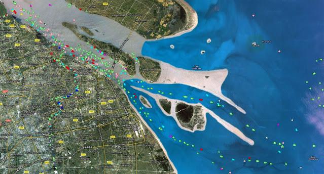 ميناء شنغهاي الصيني - Port of Shanghai – الميناء الأكبر في العالم4