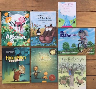 Tierische Bilderbuchtipps von Kinderbuchblog Familienbücherei