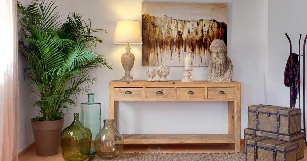 El blog de demarques 5 propuestas de consolas para el for Recibidores muebles rey
