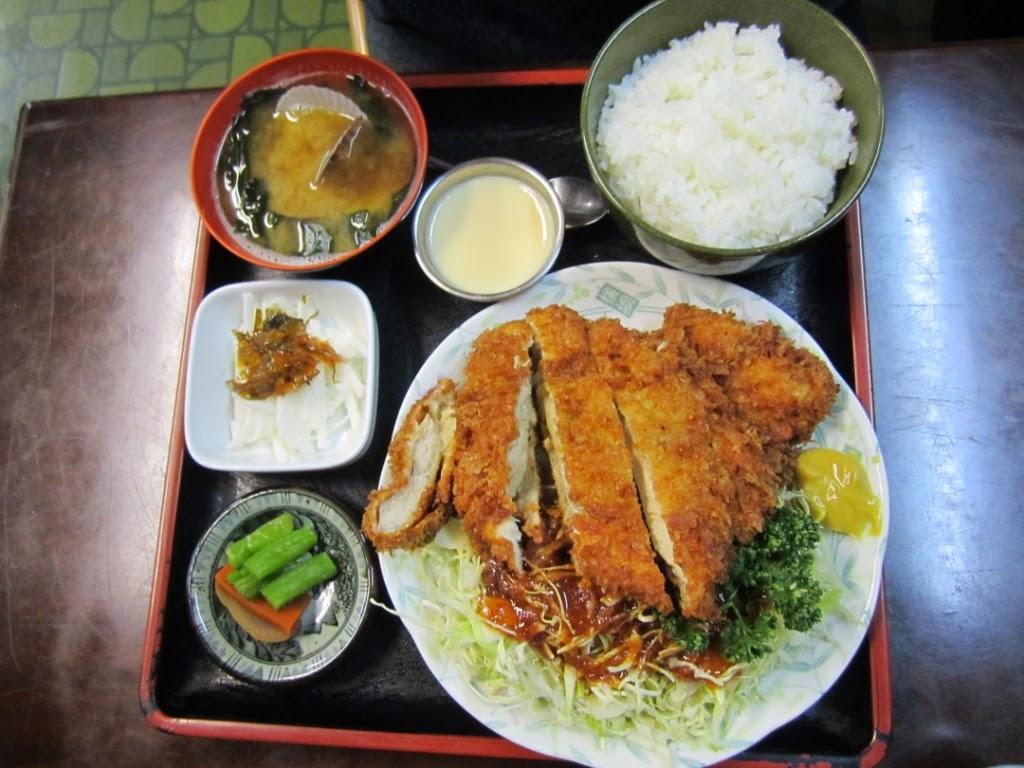 Chicken Cutlet Katsu Set Miki チキンカツ定食 食事処味喜