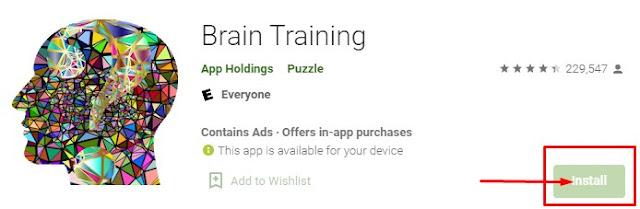 aplikasi brain training