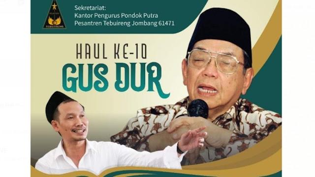 Gus Baha Akan Isi Haul Ke-10 Gus Dur di Pesantren Tebuireng Jombang