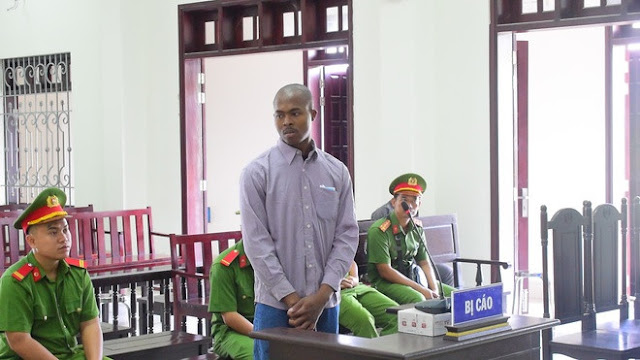 25-year-old Nigerian man sentenced to death for drug trafficking in Vietnam (Photos)