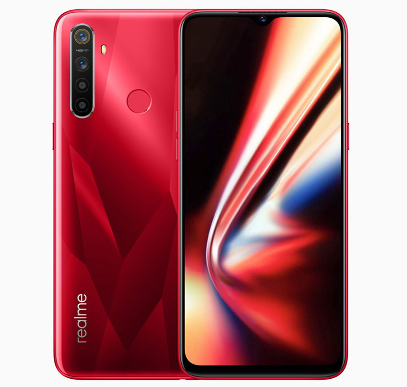 Realme 5s with upgraded 48MP cam and Crystal Red colorway announced