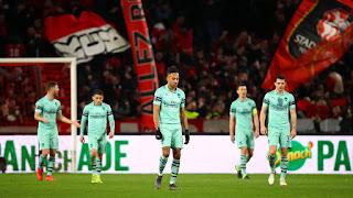 Rennes 3-1 Arsenal UEL