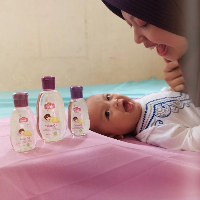 cara pakai minyak telon bayi