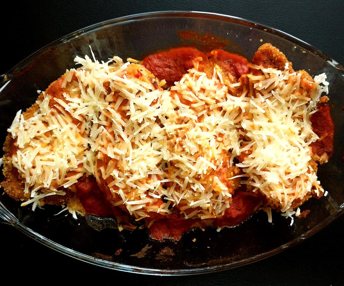 spicy chicken parmesan