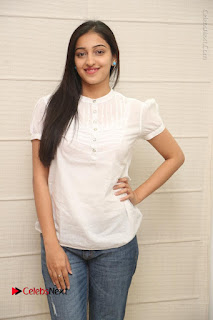 Tollywood Telugu Actress Mouryaani Latest Stills in Ripped Jeans at Intlo Deyyam Nakem Bhayam Movie Interview  0036.JPG