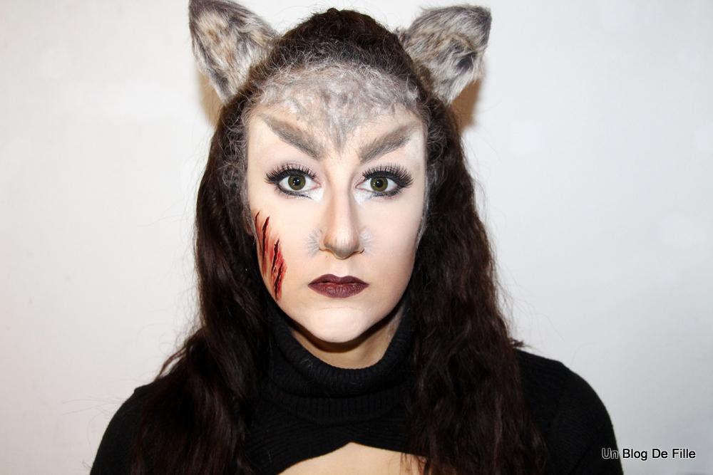 Un Blog De Fille Maquillage Halloween Loup Garou