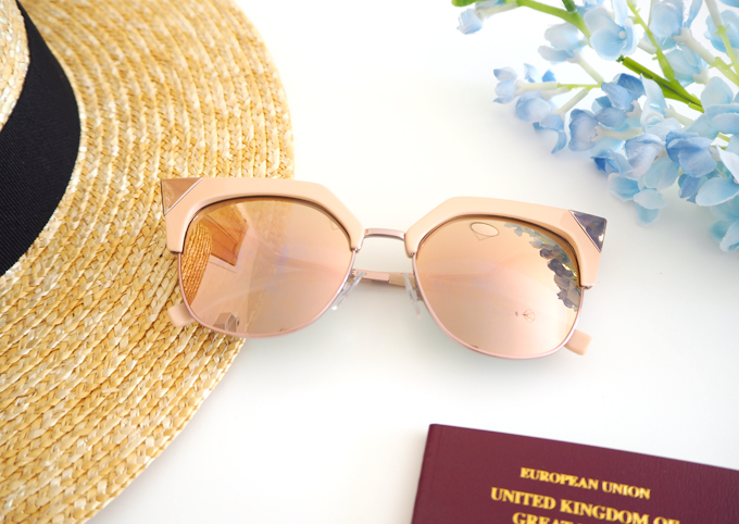 Travel My Holiday Essentials Fendi Iridia sunglasses from SmartBuyGlasses