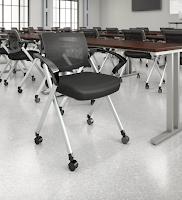 bush corporate series folding chair