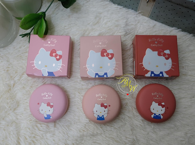Cathy Doll x Hello Kitty Collection (Full Review, Photos, Swatches and Video!)