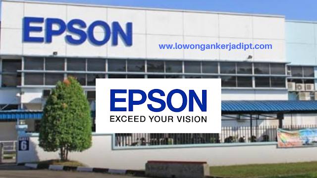Lowongan Kerja PT Indonesia Epson Industri