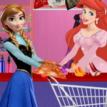 لعبة تسوق الفتيات