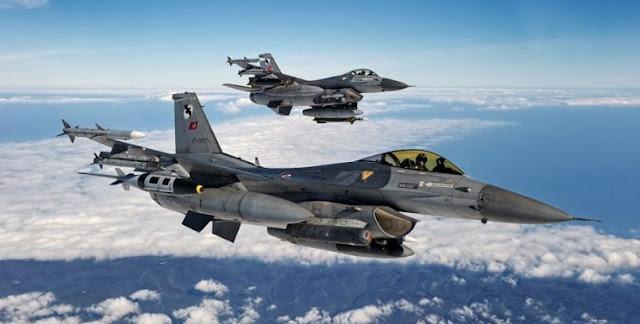 Τα τουρκικά μαχητικά F-16 δεν μπορούν πλέον να πετάξουν