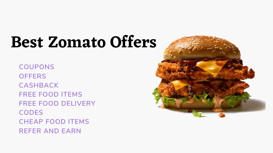 Best zomato offers