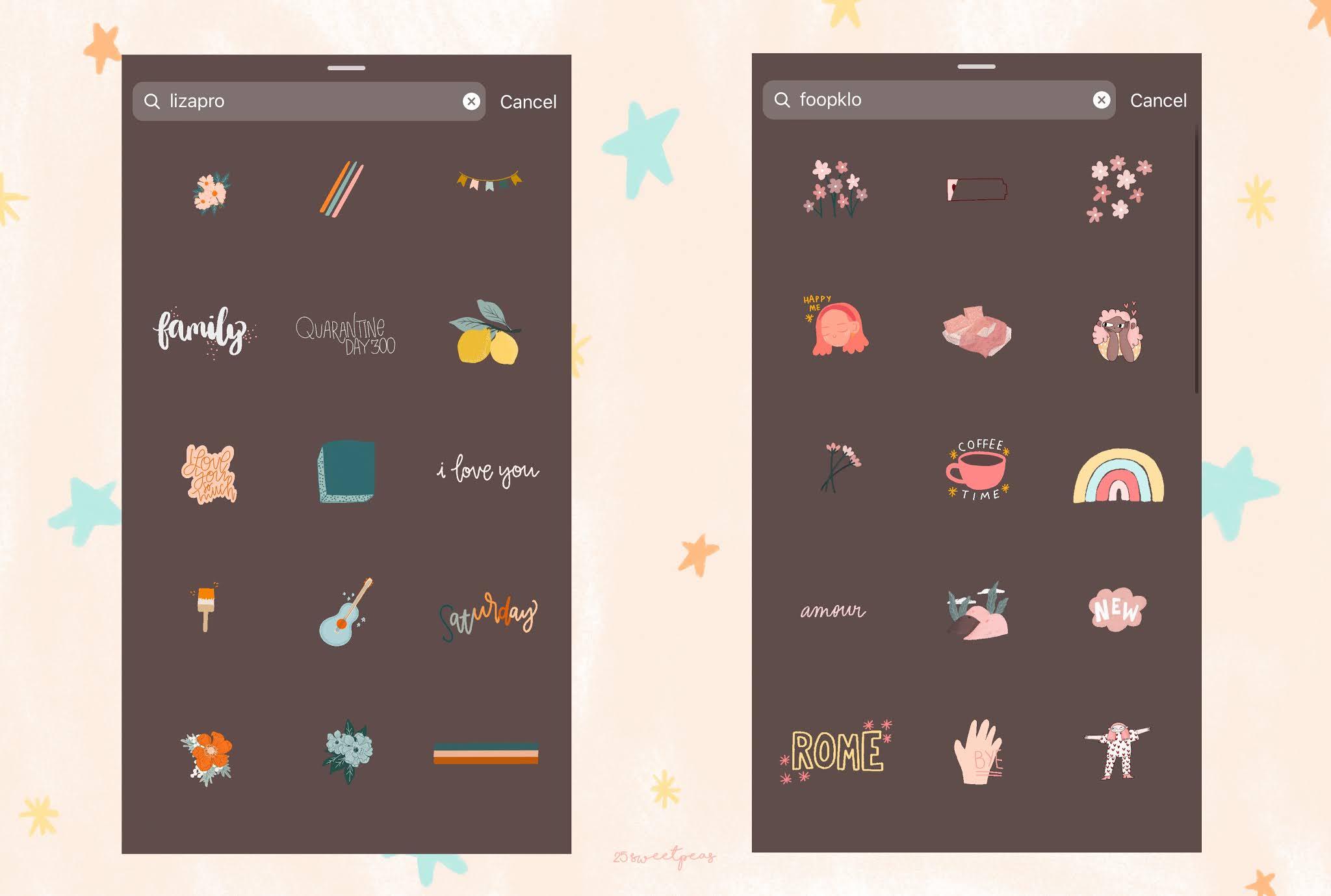 Cute Gifs For Instagram Stories 25 Sweetpeas