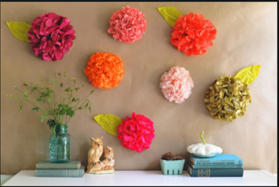Inspirasi Hiasan Dinding  Dari Kertas Yang Membuat Anda  Kerasan Di Dalam Kamar 15
