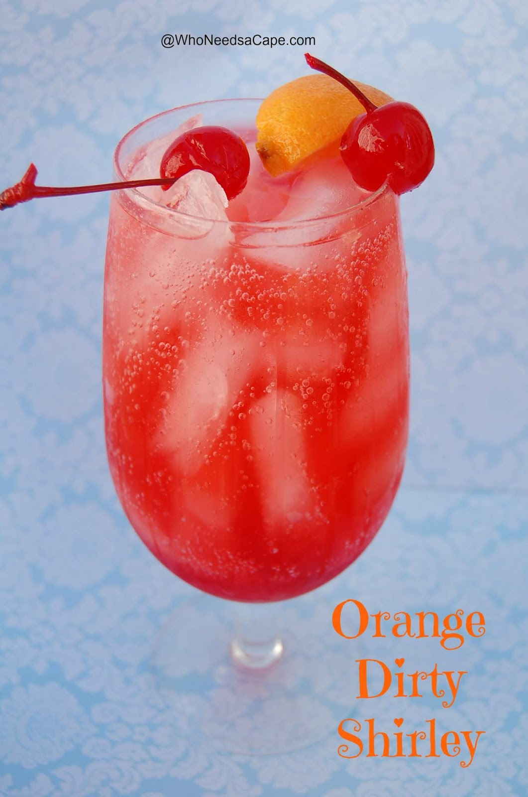 Orange Dirty Shirley #drink #cocktail #margaritas #recipe #yummy