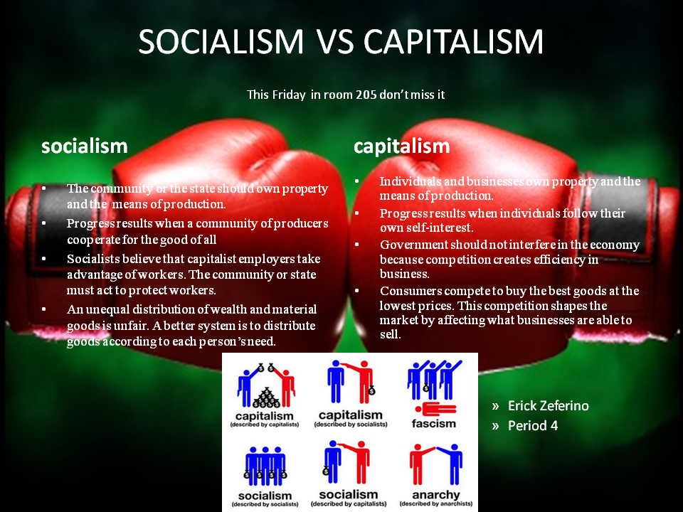 socialism and capitalism essays