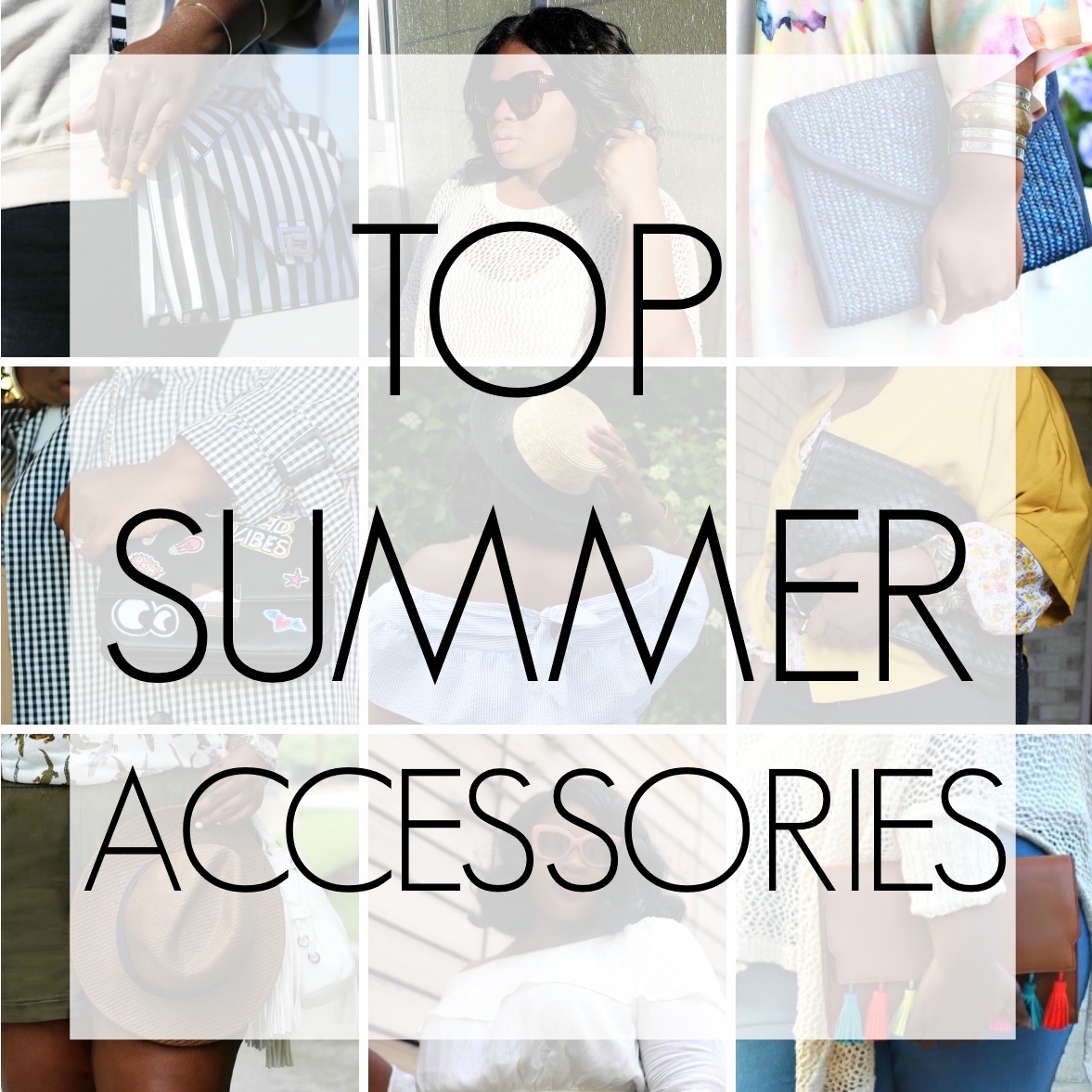 Top 5 Summer Accessories To Shop Now