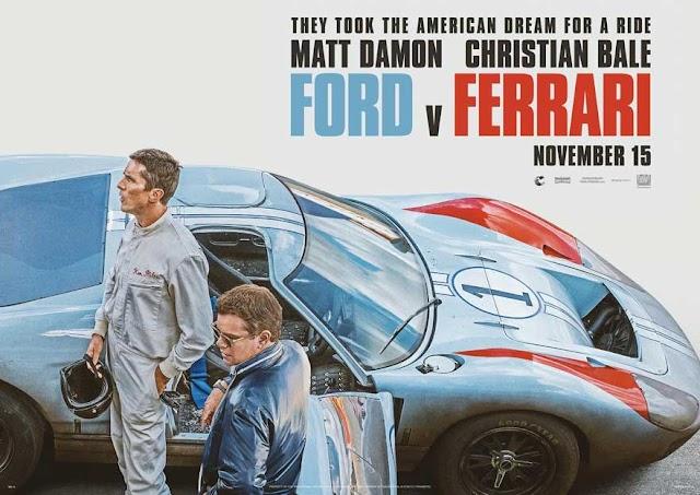 مات ديمن وكريستيان بيل يصنعان الحلم الأمريكي في سباق السيارات في فيلم Ford v Ferrari