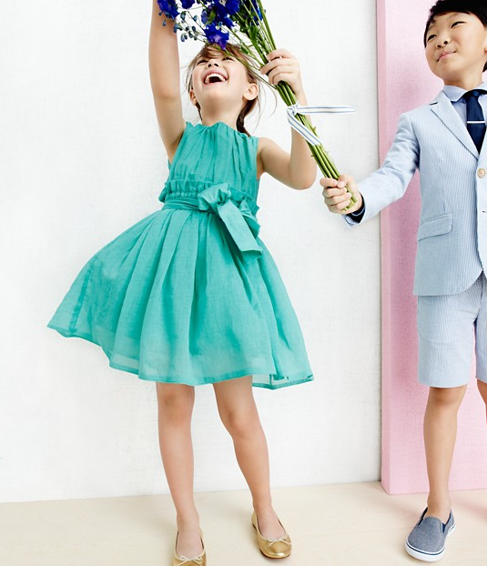 Little Angels Beautiful Outfits by J.Crew www.fashionwearstyle.com