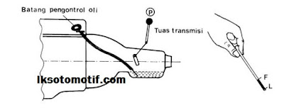 cara mengecek oli transmisi automatic