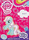 My Little Pony Wave 12B Minty Blind Bag Card
