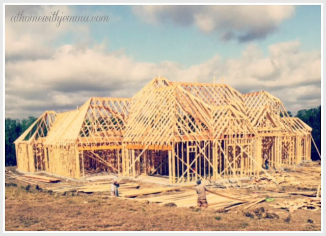 Building our new home,