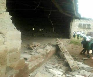 JUST IN: Student Dies As School Collapses In Ondo