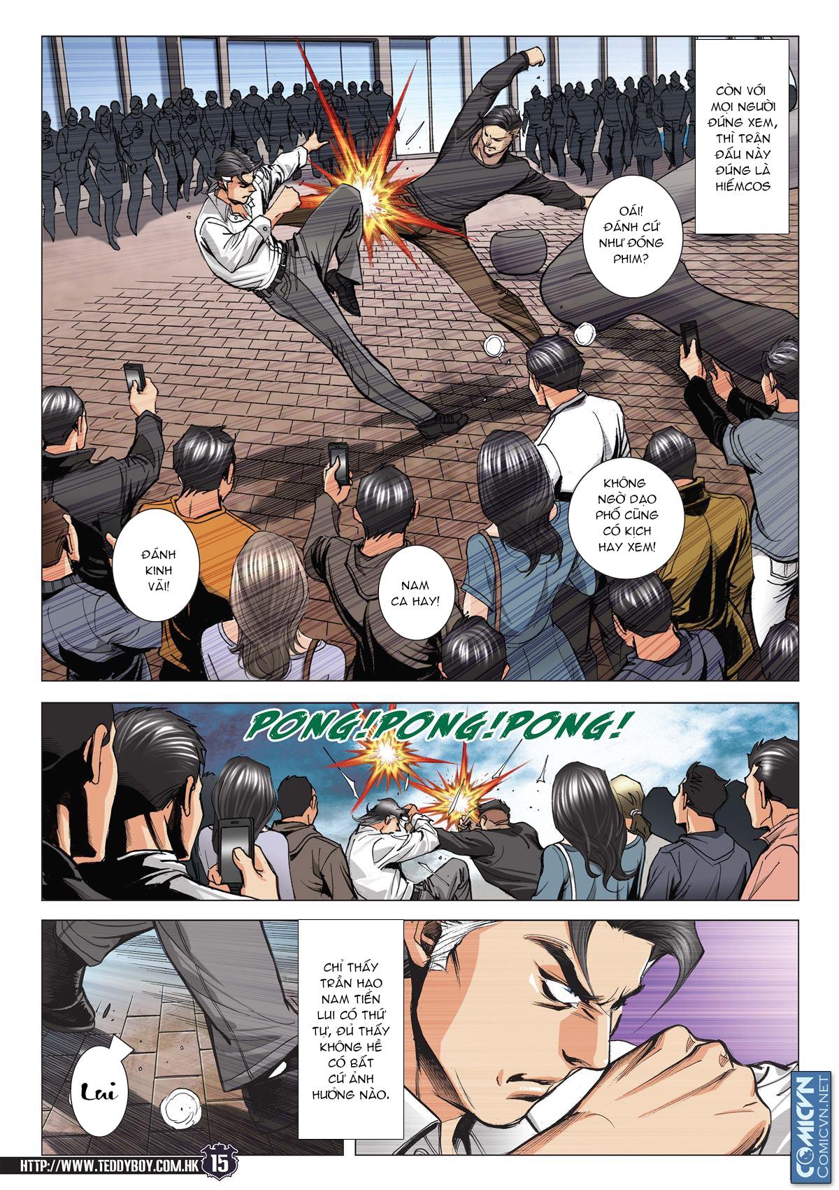 Người Trong Giang Hồ chapter 2093: nó là tay trong trang 14