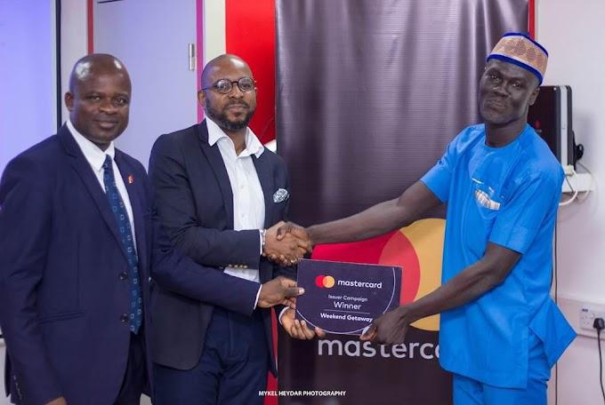 UBA Ghana rewards winners of MasterCard promotion