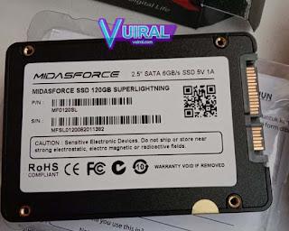 Contoh Komponen CPU Dan Fungsinya Beserta Gambarnya - SSD Card