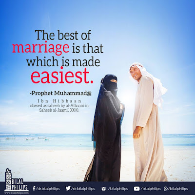 The best of Marriage is that which is made easiest